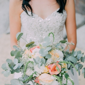 Peach & Coral Bouquet