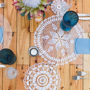 Crochet Doily Table Runner