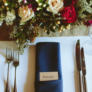 Jewel Tone Place Setting