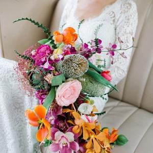 Tropical Cascade Bouquet