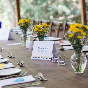 Creative Table Name Idea