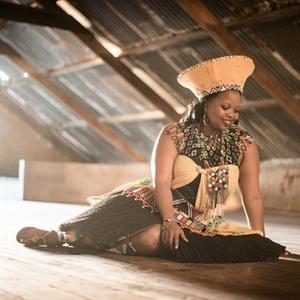 Bride in Traditional Zulu Wedding Attire