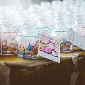 Candy Jar Wedding Favors
