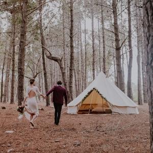 Bell Tent Elopement