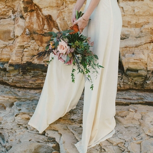 Science Inspired Geology Wedding Bouquet DLillian Photography