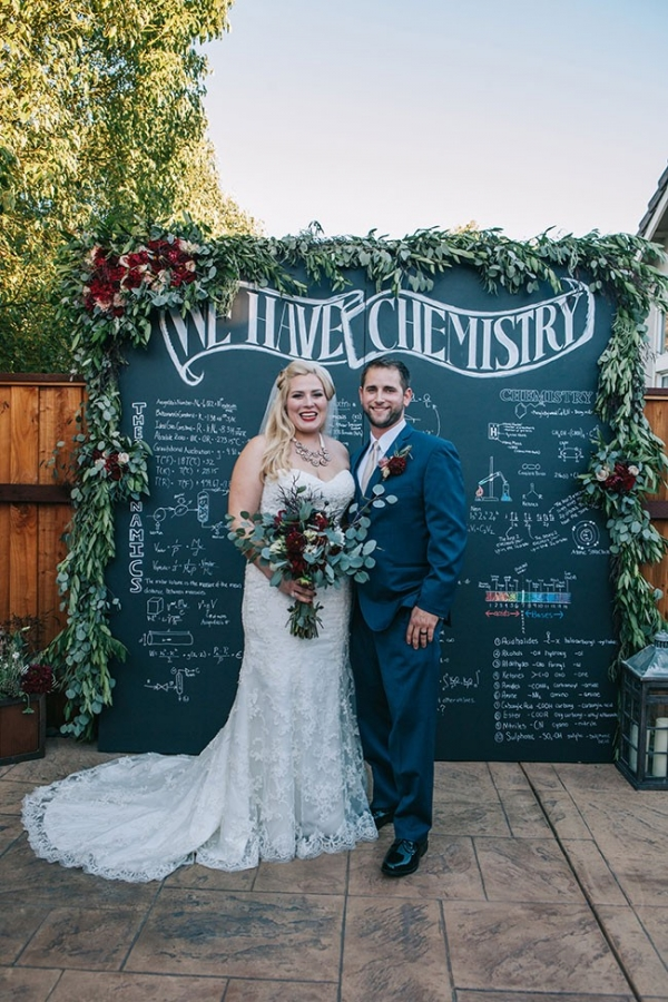 Eclectic Chemistry Wedding In San Francisco A Heart String