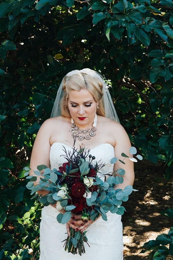 Dreamy Bridal Portrait Nestled Again Woods A Heart String