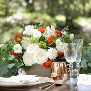 Rustic & Romantic Woodland Wedding Place Setting  Christine Glebov Photography