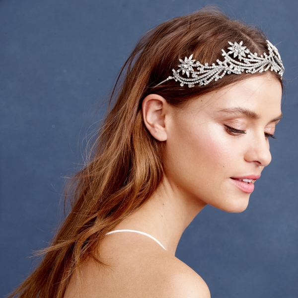 Swarovski crystal bridal crown