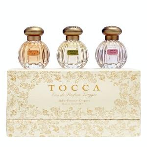 TOCCA fragrance trio