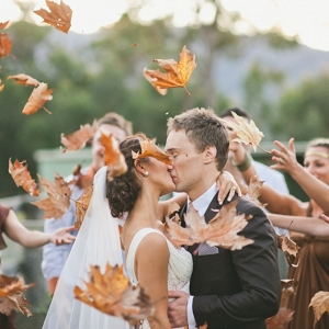 Autumn wedding in Australia