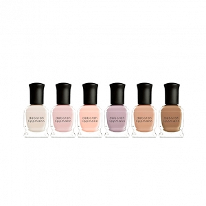 Nude nail polish set