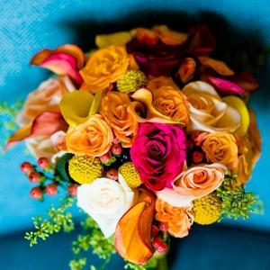 Indian Bride's Wedding Bouquet