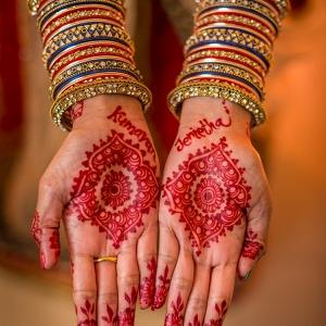 Bridal henna on The Big Fat Indian Wedding
