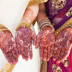 Mehendi for Two Brides