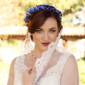 Beautiful Blue and Gold Wedding