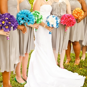 Rainbow Themed Wedding | Krystal Zaskey Photography