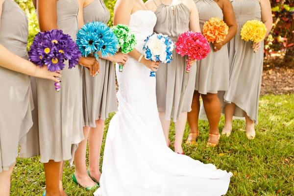 Rainbow Themed Wedding | Krystal Zaskey Photography