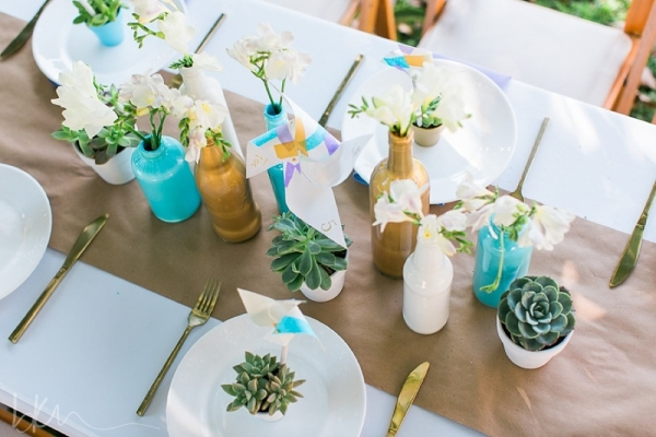 Mini Succulent Wedding Favors