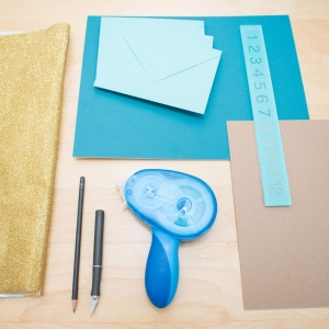 DIY Envelope Liner Materials - Photo by Mikkel Paige Photography