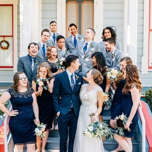 California Garden Wedding on The Budget Savvy Bride