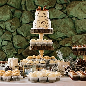 Winter Wonderland Wedding Dessert Table | James Stokes Photography