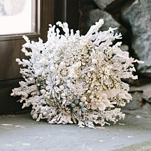 Winter Wonderland Wedding Bouquet | James Stokes Photography