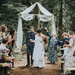 Magical Woodland Wedding Recessional