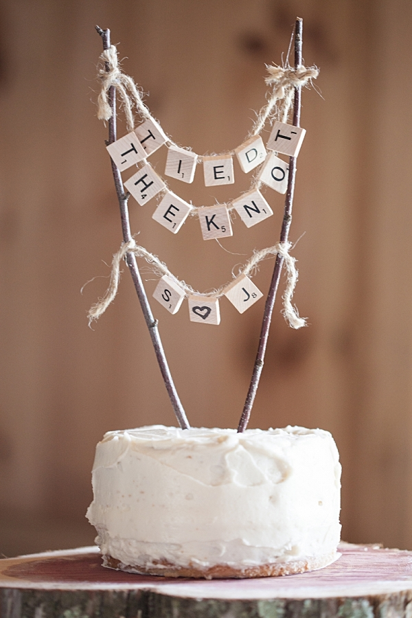 Wedding Cake Topper | Charlie Juliet Photography