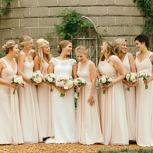 Summer Wedding in Michigan - Bride and Bridesmaids by Grant Beachy Photography