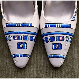 Wedding with Star Wars Details from The Budget Savvy Bride