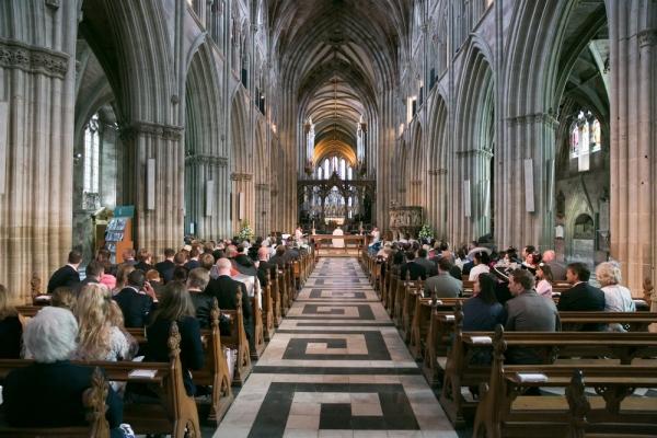 wedding+ceremony+church+Worcester,+England