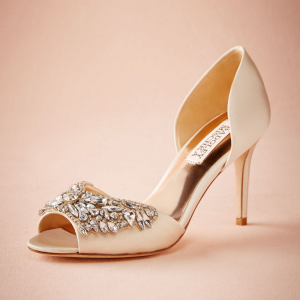Crystal Adorned Heels by Badgley Mischka
