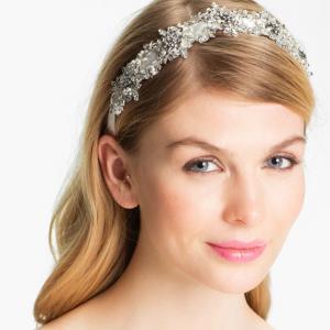 Crystal Embellished Bridal Head Piece