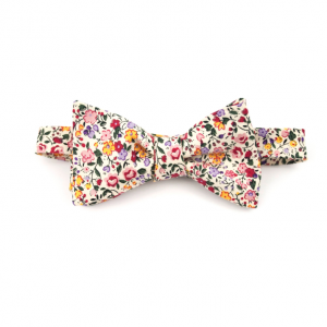 Floral Print Bow Tie by Fox & Brie