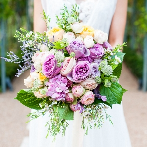 A Garden Gala with Hydrangea & Watercolor Details