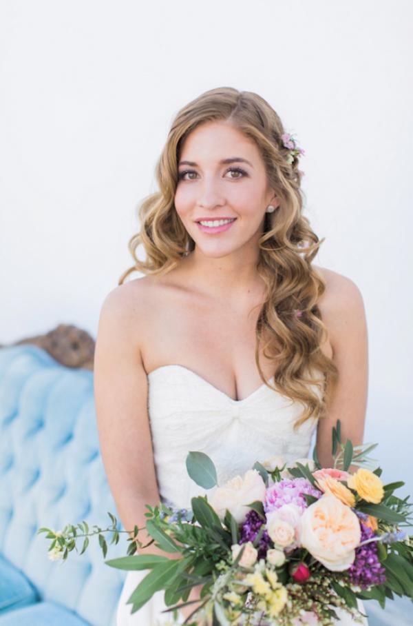 Garden Glam Bridal Inspiration