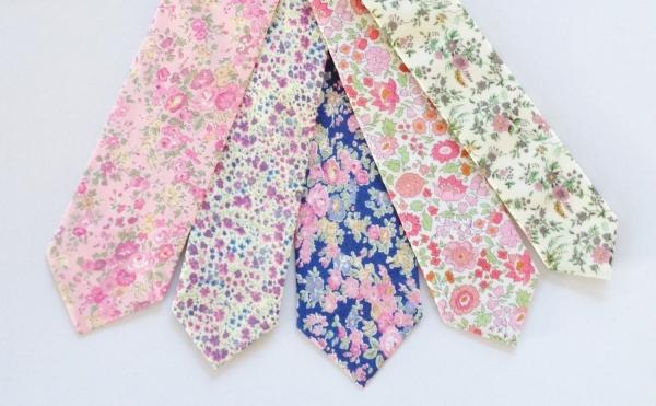 Gorgeous hand sewn custom neckties