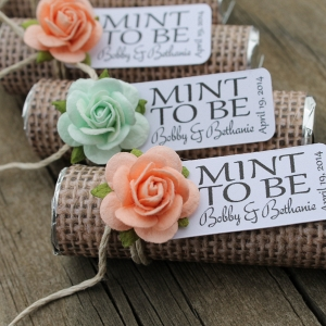 'Mint to Be,' Wedding Favors Set