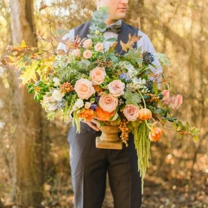 Painterly Inspired Wedding Editorial
