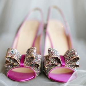 Kate Spade Charm Glitter Heels In Multi Kristen Gardner Photography