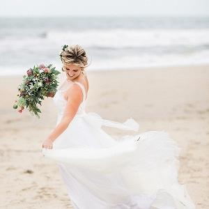Boho Chic Virginia Beach Wedding on Tidewater & Tulle