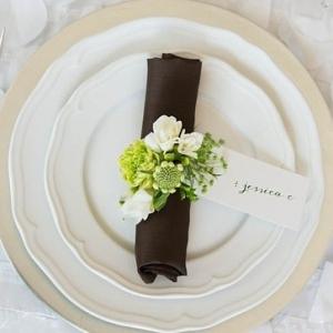DIY Flower Napkin Ring