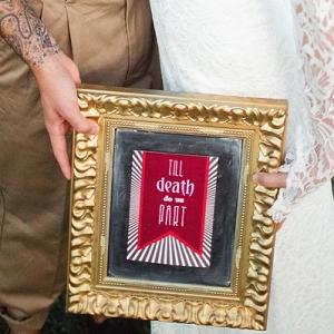 Till Death Do Us Part Wedding Sign
