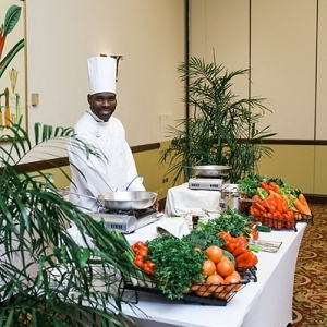 Discovery Dining chef at Sandals