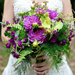 Woodland inspired bouquet