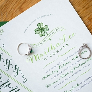 Irish Bridal Shower Invitation