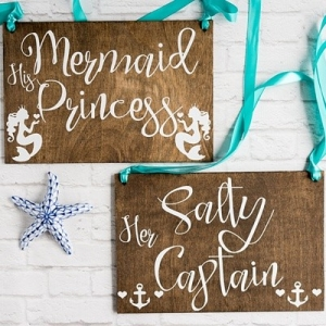 Mermaid chair signs