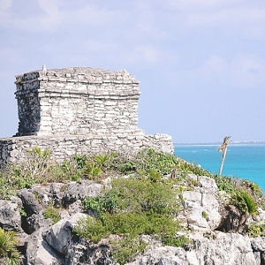 Tulum Ruins in Mexico for Honeymoon