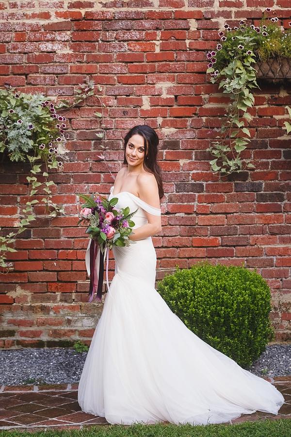 Garden bride